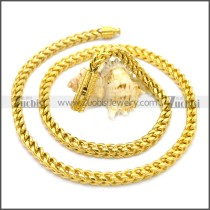 Stainless Steel Chain Neckalce n003130G