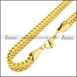 Stainless Steel Chain Neckalce n003125G