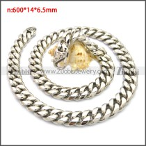 Stainless Steel Chain Neckalce n003133S1