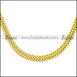 Stainless Steel Chain Neckalce n003124G