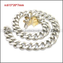 Stainless Steel Chain Neckalce n003136S