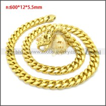 Stainless Steel Chain Neckalce n003133G2
