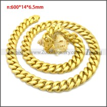 Stainless Steel Chain Neckalce n003133G3