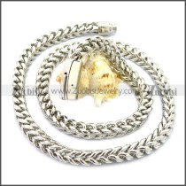 Stainless Steel Chain Neckalce n003132S