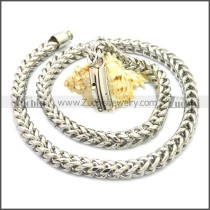 Stainless Steel Chain Neckalce n003129SW8