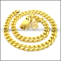 Stainless Steel Chain Neckalce n003122G