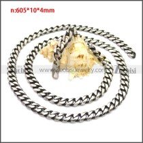 Stainless Steel Chain Neckalce n003138SH7