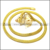 Stainless Steel Chain Neckalce n003124G