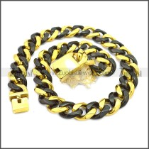 Stainless Steel Chain Neckalce n003120GH