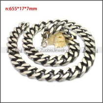 Stainless Steel Chain Neckalce n003135SH