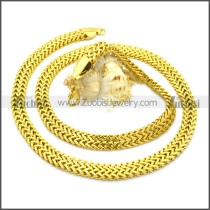 Stainless Steel Chain Neckalce n003125G