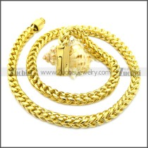 Stainless Steel Chain Neckalce n003132G