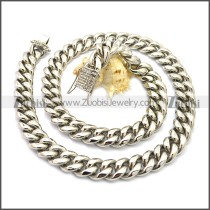 Stainless Steel Chain Neckalce n003128S