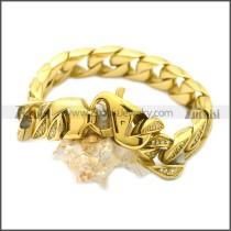 Stainless Steel Bracelet b009828GW15