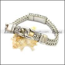 Stainless Steel Bracelet b009825S