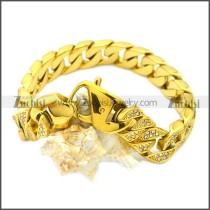 Stainless Steel Bracelet b009828GW13