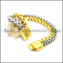 Stainless Steel Bracelet b009823GS