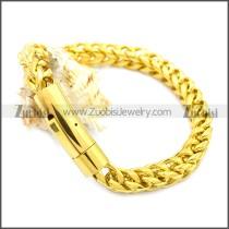 Stainless Steel Bracelet b009836G