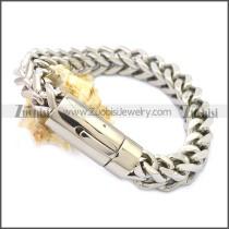 Stainless Steel Bracelet b009836SW10
