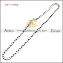 Stainless Steel Chain Neckalce n003150SA2