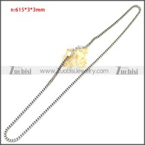 Stainless Steel Chain Neckalce n003145S4
