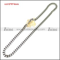 Stainless Steel Chain Neckalce n003144SA3