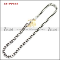 Stainless Steel Chain Neckalce n003145S1
