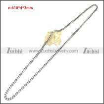 Stainless Steel Chain Neckalce n003144SA6