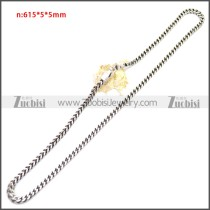 Stainless Steel Chain Neckalce n003145S3