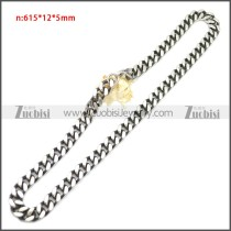 Stainless Steel Chain Neckalce n003144SA1