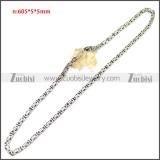 Stainless Steel Chain Neckalce n003147SA5