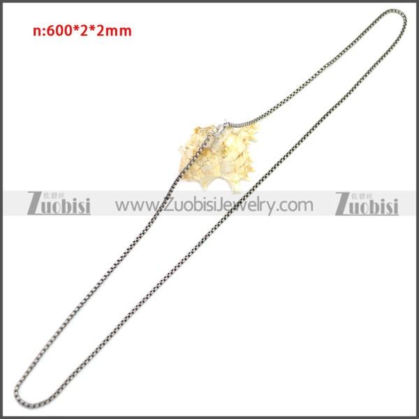 Stainless Steel Chain Neckalce n003151S6