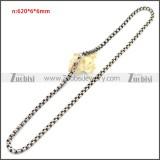 Stainless Steel Chain Neckalce n003151S2
