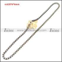 Stainless Steel Chain Neckalce n003151S2