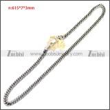 Stainless Steel Chain Neckalce n003149SA2