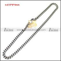 Stainless Steel Chain Neckalce n003148SA4