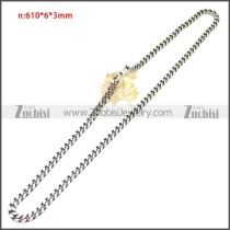 Stainless Steel Chain Neckalce n003144SA5