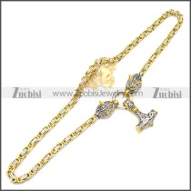 Stainless Steel Chain Neckalce n003139GS