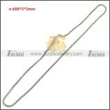 Stainless Steel Chain Neckalce n003151S5