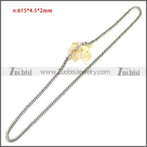 Stainless Steel Chain Neckalce n003149SA5