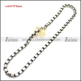 Stainless Steel Chain Neckalce n003150SA1