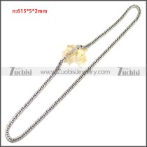 Stainless Steel Chain Neckalce n003149SA4