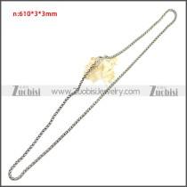 Stainless Steel Chain Neckalce n003143SA7