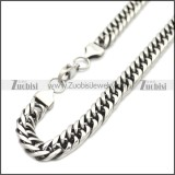 Stainless Steel Chain Neckalce n003149SA1