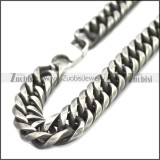 Stainless Steel Chain Neckalce n003149A