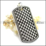 Stainless Steel Pendant p010609SH