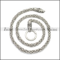 Wolf Viking Necklace n003156S