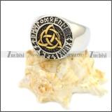 Stainless Steel Ring r008594SHG