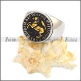 Stainless Steel Ring r008593SHG