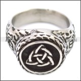 Stainless Steel Ring r008586SH